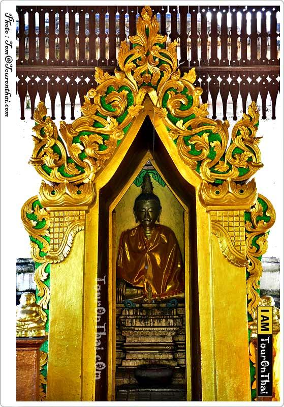 พระพุทธรูปเนื้อเงิน