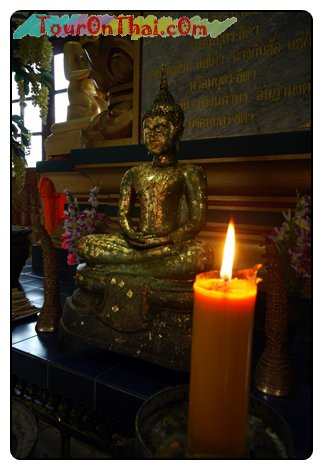 พระพุทธรูปด้านหน้าพระพุทธมหาอัษฎามงคล