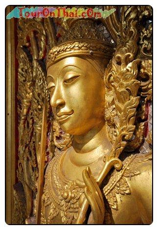 เทวรูปที่ประตูปราสาททองคำ (กาญจนาภิเษก)