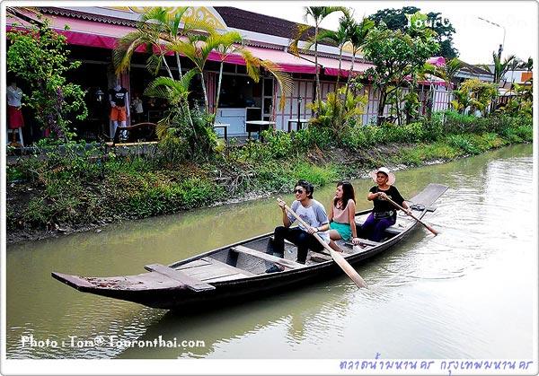 ล่องเรือเที่ยวตลาดน้ำมหานคร