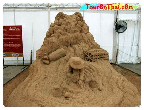 ปราสาททราย-วัดโสธรวรารามวรวิหาร