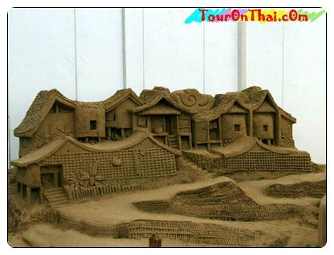 เทวรูปทราย