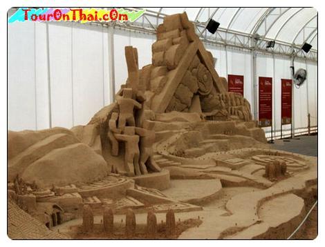 พระบูรพาจารย์ปั้นทราย