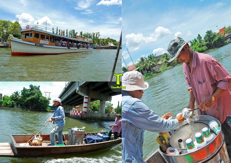 ล่องเรือเที่ยวตลาดน้ำดอนหวาย
