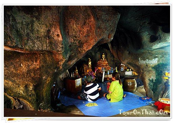 ภายในถ้ำสมาธิคุปต์