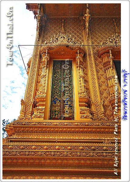 งานปูนปั้นอุโบสถทองคำ