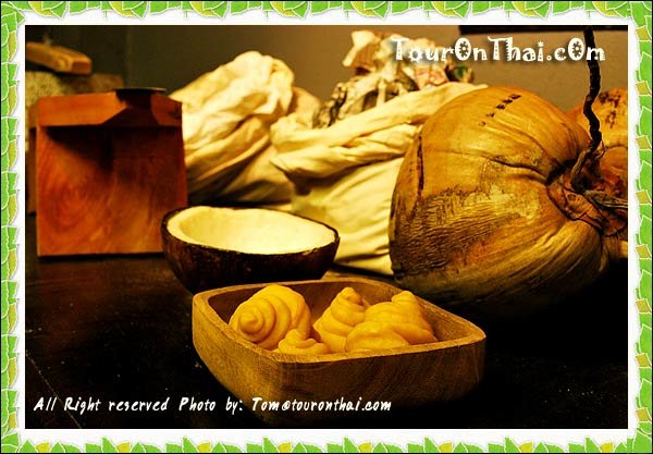 อุปกรณ์และส่วนประกอบของขนมไทย