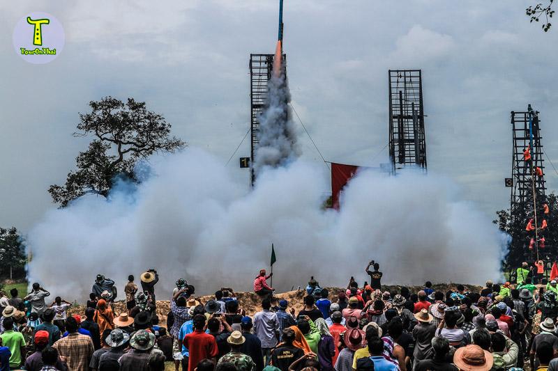 ประเพณีบุญบั้งไฟ พนมไพร 2560