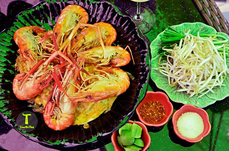 อ้อยหวานอาหารไทยโบราณ ดอนหวาย