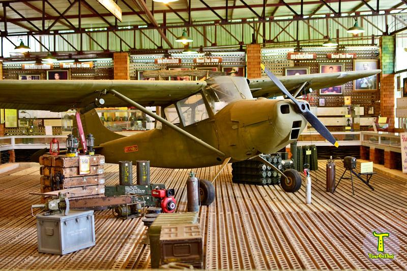 เครื่องบินรบสมัยสงครามโลก พิพิธภัณฑ์เบญญารัญ