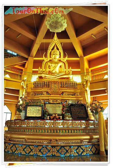 พระพุทธชินราชพร้อมพระอัครสาวกซ้าย-ขวา องค์ำจำลอง