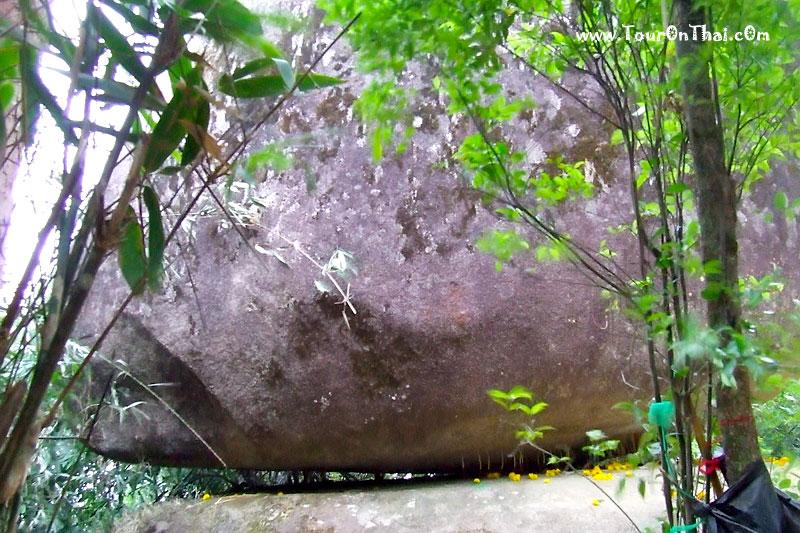 หินลอยได้มหัศจรรย์เขาคิชกูฏ