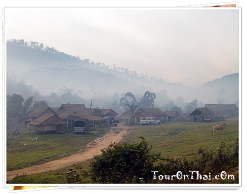 หมู่บ้านที่อุ้มผางกลางสายหมอก