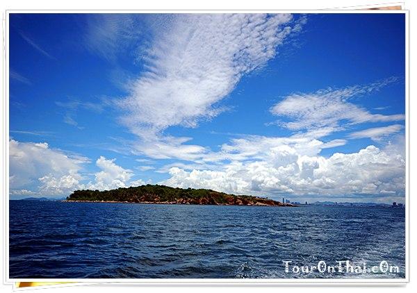 เข้าเขตเกาะบริวารของเกาะล้าน