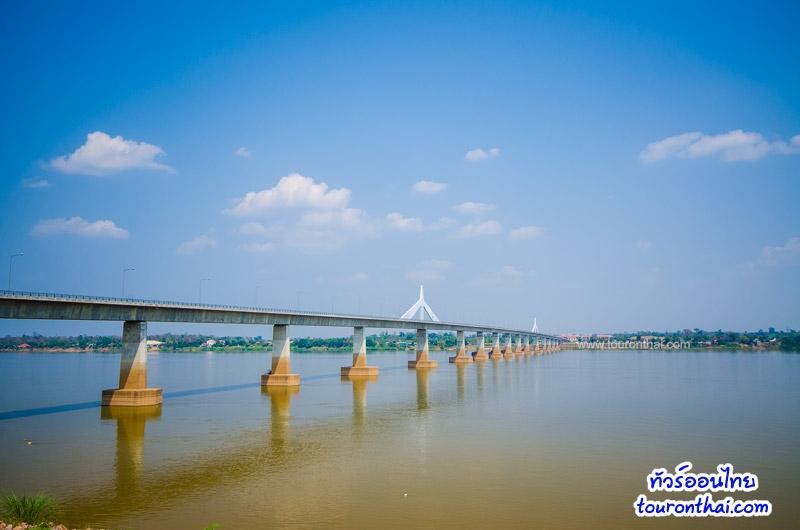 สะพานมิตรภาพไทยลาวอีกมุมหนึ่ง