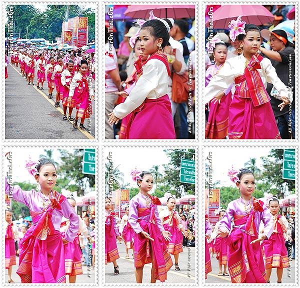 การแสดงของนักเรียนอนุบาล