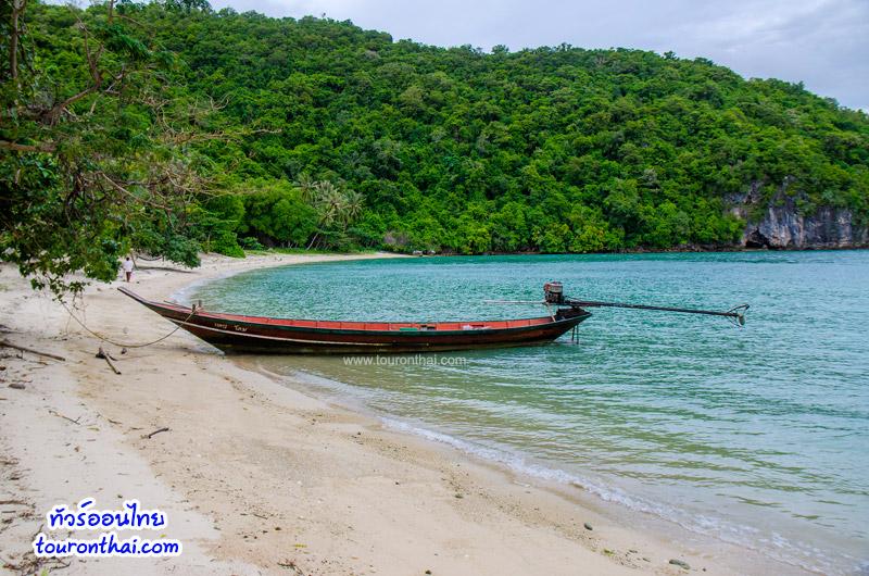 หาดทรายสวยๆ ของเกาะกุลา