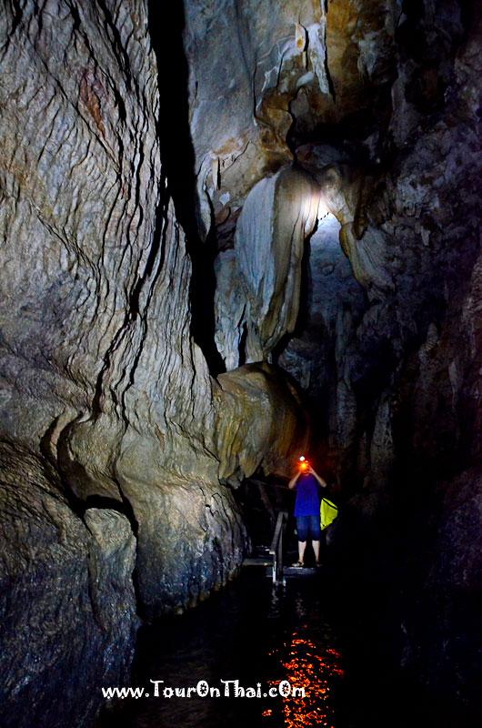 ทางเดินในถ้ำพุงช้าง