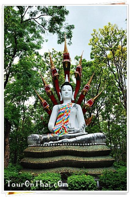 พระพุทธรูปปางนาคปรกแบบศิลปะไทย