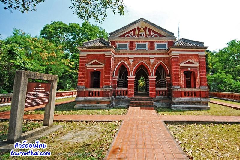 ประวัติการก่อสร้างศาลาพระวิหารแดง