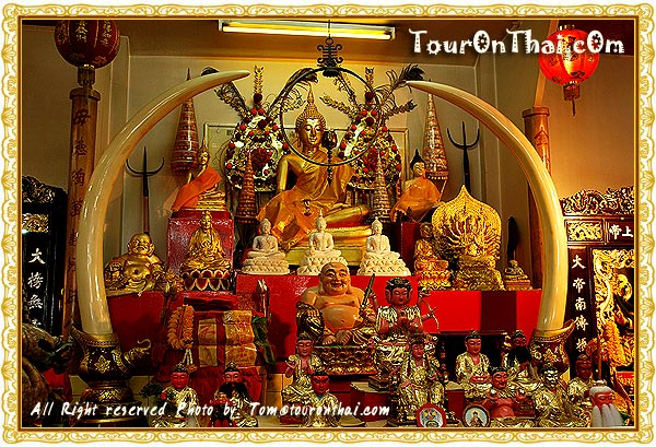โต๊ะหมู่บูชาพระพุทธรูป