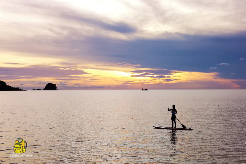 Stand Up Paddle Board เกาะหมาก