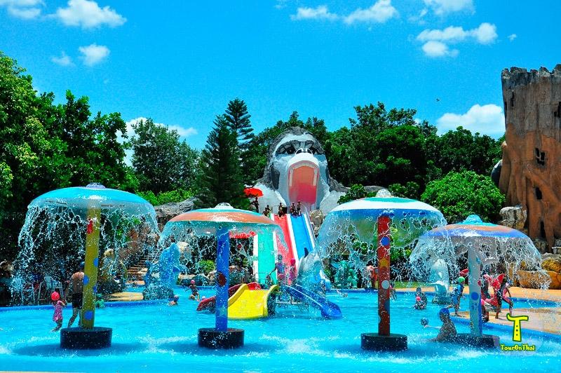 สวนน้ำสวนสัตว์โคราช Korat Zoo Lagoon