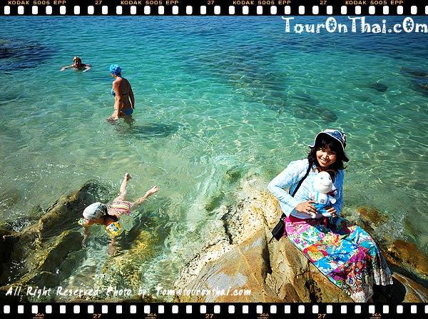ทะเลใสที่หาดกะหลิม