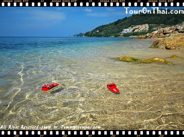 น้ำทะเลใสที่หาดกะหลิม