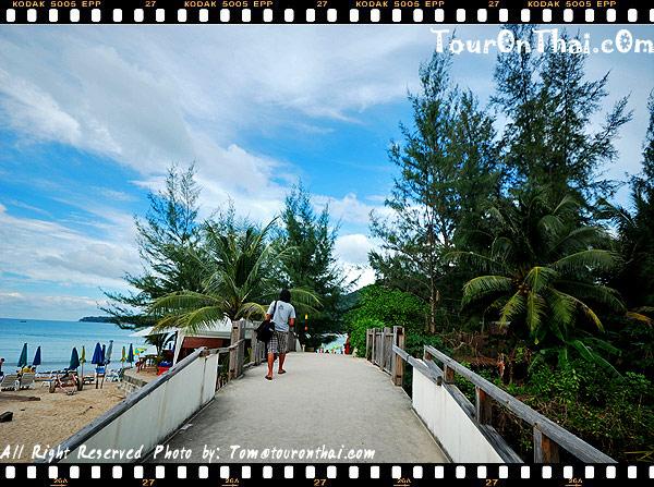 สะพานเข้าหาดกมลา