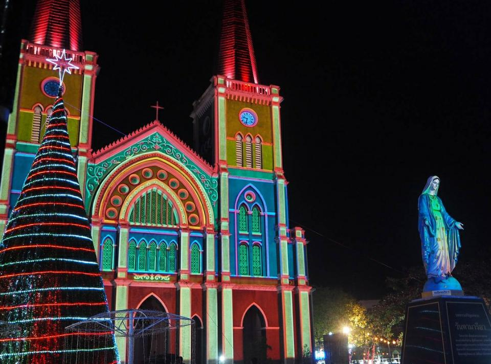 ,Cathedral of Immaculate Conception Chanthaburi