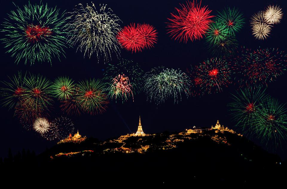 ,Khao Wang fireworks Viewpoint