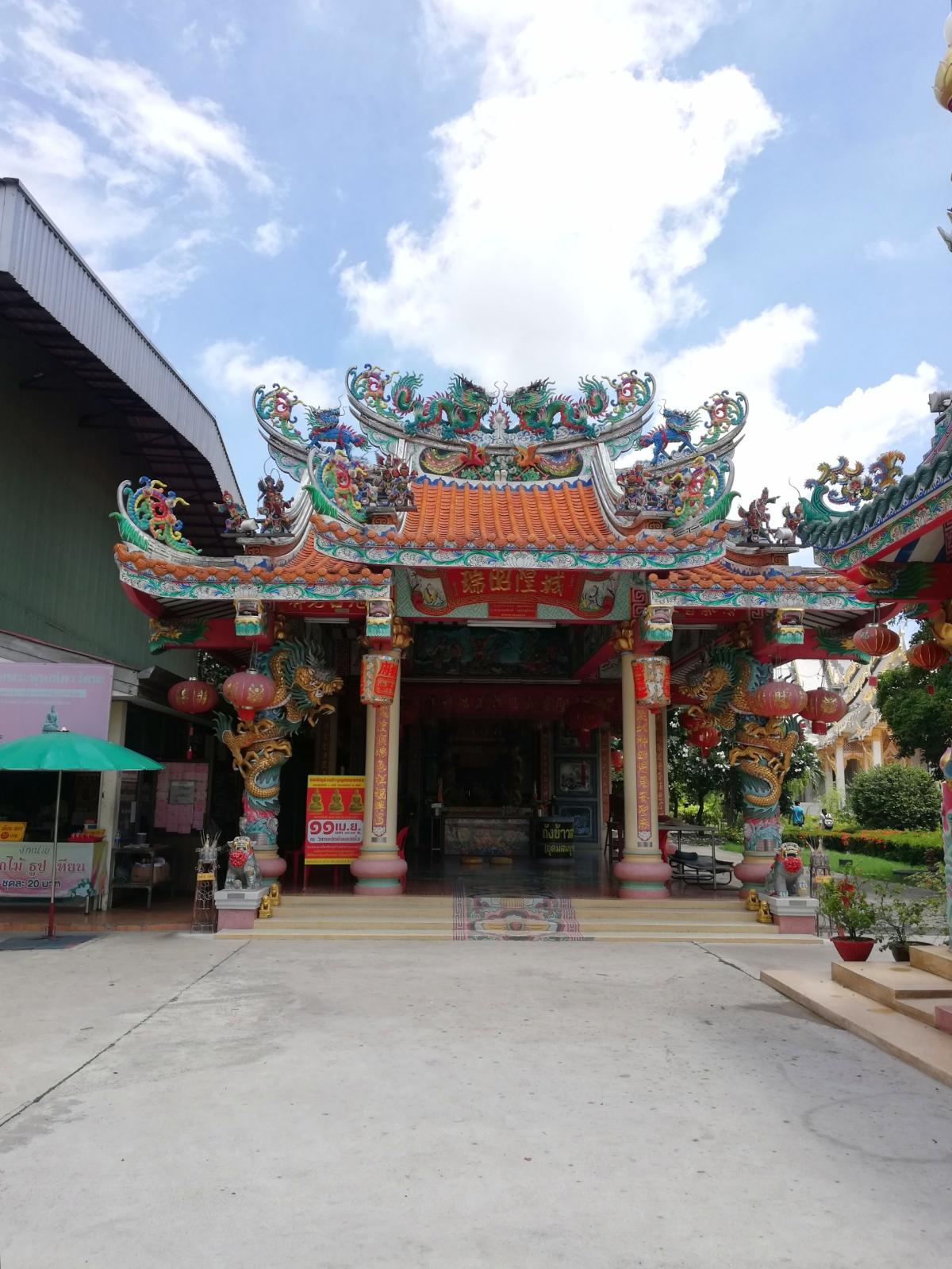,Chachoengsao City Pillar Shrine